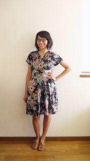 Cake Patterns Tiramisu dress - as made by @竜太 内田 Estiti Wish I could sew!