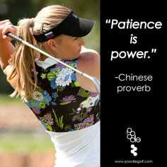 Poodle's 'Zen' shirt in White w/Lotus violet print #quotes #golf