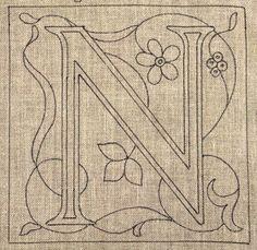 Letter N Pattern