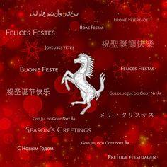 Ferrari Logo, Merry Christmas, Movie Posters, Board, Happy Holidays, Happy Holi, Merry Little Christmas, Ferrari Sign, Film Poster