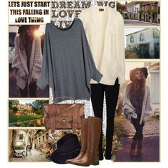 ♥Lets just start this falling in love thing♥, created by hannna98 on Polyvore