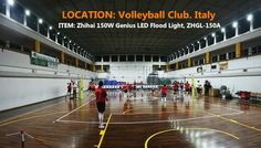 Volley ball court in Italy  LED Flood Light