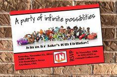 Disney Infinity Birthday Party Photo Invitation by Design13, $10.00 on etsy