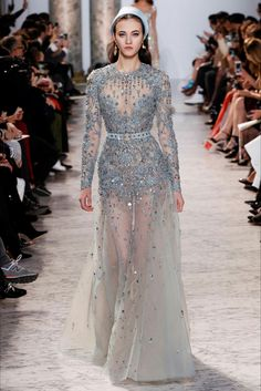 Elie Saab Spring 2017 Haute Couture Collection.