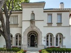 Luxury Homes, Estates & Properties Mount Vernon, White Houses, Luxury Homes, Dallas, Exterior, Mansions, House Styles, Building, Dream Houses