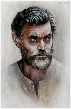 Timothy Omundson - Cain. Supernatural fanart by MeduZZa13 on deviantart.com #Supernatural #Cain