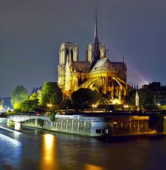 Ile de la cite-one of two islands in the Seine within the city of Paris.