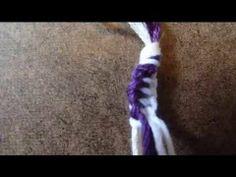 How To Make : The Zipper (Friendship bracelet)