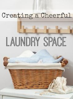 Practical ways to clean up and cheer up your laundry space