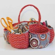 Honeycomb Basket Sewing Pattern for quilting by Beth Studley