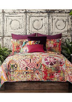 Poetic Wanderlust™ by Tracy Porter Winward Bohemian Mixed-Pattern Voile Quilt - BEAUTIFUL #affiliate