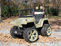 A forum for modifying power wheels.