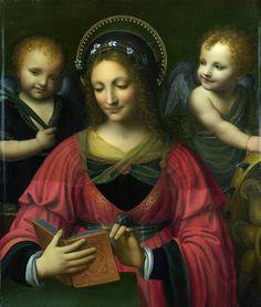 After Bernardino LUINI Saint Catherine