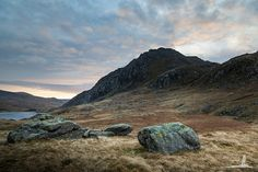 Forever Resting in Idwal - In the Landscape