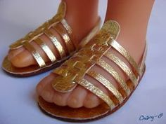 Mimin Dolls: Tutorial sandália para doll de couro
