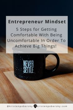If you're ready to achieve bigger things in your business and life then you need to make friends with being uncomfortable.... here's 5 steps to help get you going, going going!