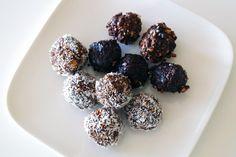 healthy brownie ballen
