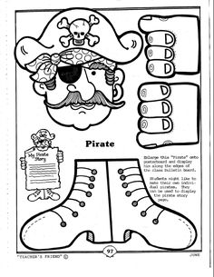 pirate craft for kids - Google Search