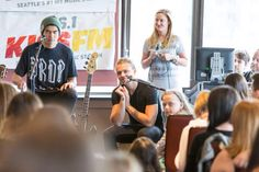 Cashton || Private Show at 106.1 KISS FM in Seattle, WA - 7/24/15