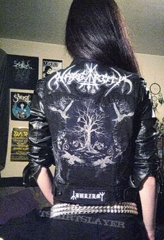 BLOODBATHORY's Folk / Atmospheric  Black Metal Battle Vest
