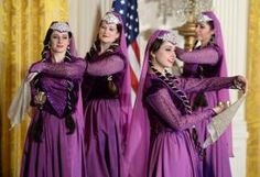 Persian New Year celebration held at White House. Mrs. O hosted a Nowruz which is celebrated in Iran and Afghanistan. The official start of the 3,000 year old holiday in March coincides with the spring equinox. (3/11/15)
