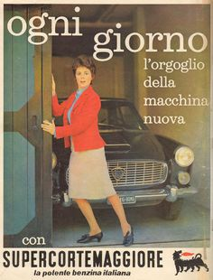 Vintage Deluxe — openairmotorist: girlsandmachines: 1963 Every. Advertising Slogans, Vintage Advertising Posters, Old Advertisements, Advertising Campaign, Vintage Posters, Vintage Italian, Vintage Ads, Vintage Images, Old Pub