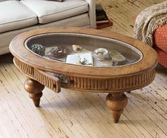 We need a new coffee table ... I'm sorta lovin' on this one from Napa Style.