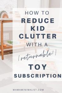 Many parents believe an abundance of toys will encourage deeper play, and no parent wants their child to be deprived. But toys contribute to significant household clutter, and 80 percent of toys end up in a landfill, incinerators, or the ocean. Inside: Why I am embracing toy subscription services as a means of reducing clutter and plastic waste; an honest review of the Montessori method-based Tiny Earth Toys, too. Minimalist Parenting, Mindfulness For Kids, How To Remove, How To Apply, Life Happens, First Time Moms, Mom Blogs, Simple Living, Cool Toys