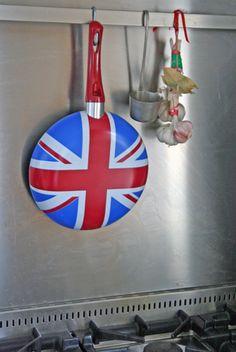 Union Jack Frying Pan