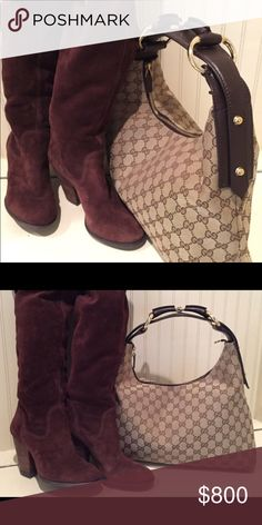 62e0a58f00d5 Beautiful Authentic Gucci handbag! Beautiful Authentic Gucci handbag! Dust- bag included. Like