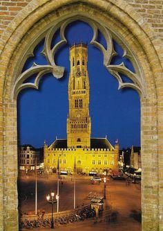 PK1262. Brugge. Belgien.