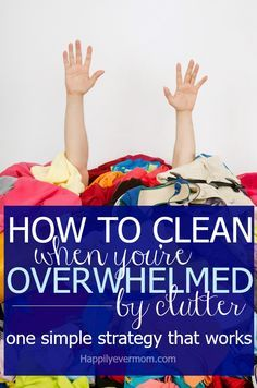Oh, I wish I had known about this tip for getting organized years ago.  My youngest kids can *actually* help clean up now thanks to this!