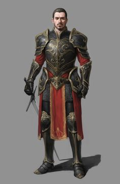 Royal Knight, Minseok Kwak on ArtStation at https://www.artstation.com/artwork/K9WNr