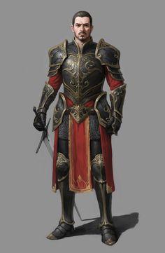 Royal Knight, Minseok Kwak on ArtStation at https://www.artstation.com/artwork/K9WNr