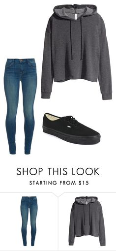 """""""Untitled #114"""" by xoxo-mistery on Polyvore featuring J Brand, H&M and Vans"""