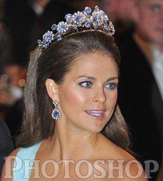The Barberini Sapphire Tiara on...PMofS