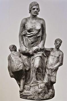 Μήδεια ΙΙΙ (1933) Εθνική Γλυπτοθήκη Γύψος