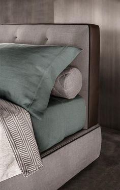 2 - Un particolare di Minotti Bedford Bed