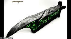 Riven sword League of Legends cosplay prop