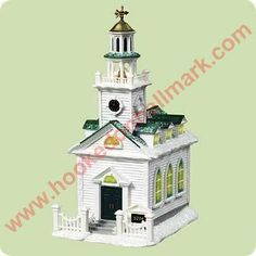 2004 Candlelight Services #7 Colonial Church Hallmark ornament