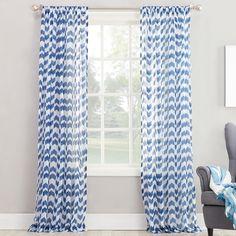 No. 918 Leland Single Curtain Panel | Wayfair