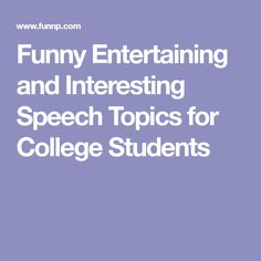004 A great list of speech topics for kids, perfect for