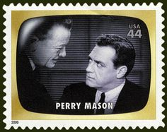 Detective Fiction on Stamps: United States 2009: Perry Mason