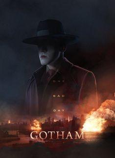 The new joker Jeromiah Gotham Show, Gotham Tv Series, Gotham Cast, O Joker, Gotham Joker, Joker And Harley Quinn, Jerome Gotham, Gotham Characters, Dc Comics