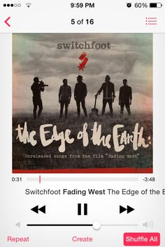 Switchfoot The Edge Of The Earth