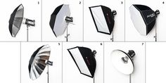 Comparing Light Modifiers: Part I