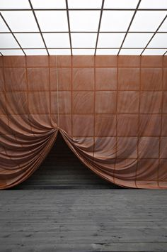 Stage set inspiration for Experience - Ulla von Brandenburg, Pilar Corrias Theatre Design, Stage Design, Set Design, Decoration Inspiration, Design Inspiration, Fabric Installation, Interactive Installation, Instalation Art, Stage Set