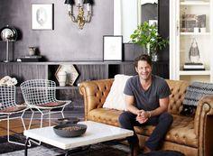 via Rue Magazine (November issue). Nate Berkus's living room.