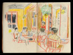 Sketch Book Sketch 2013 by Studio-Takeuma  , via Behance - Art Sketches, Art Drawings, Intro To Art, Artist Sketchbook, Sketchbook Inspiration, Urban Sketching, Art Graphique, New Art, Art Inspo