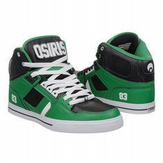 Osiris NYC83 VLC Shoes (Green/Black/White) - Men's Shoes - 8.0 M